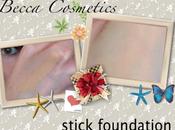 Revue maquillage fond teint stick Becca Cosmetics