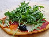 Pizza Coppa, Pecorino, Olives Roquette