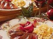 Filet chevreuil oignons rouges
