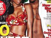 Kelly Rowland Trey Songz couvrent sexy édition magazine Ebony