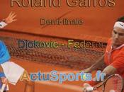 Roland Garros 2012: Djokovic Federer vidéo