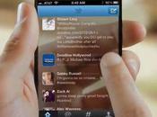 Concept iPhone transparent holographique...