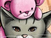 Nouvelles illustrations chats avec doudous