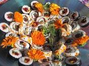 Sushis floraux