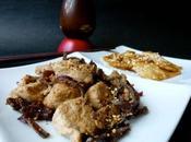 Porc curry japonaise, céleri sésame