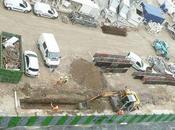 Centre Lagny paroi moulée, construction murette-guide