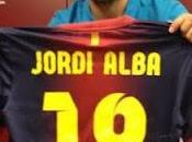 Jordi alba officielement Barcelonais