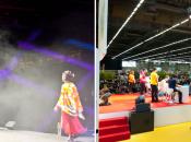 Evénementiel Japan Expo 2012 mise lumière groupe Novelty