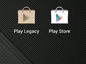 Legacy Play Store récupérer liste applications payantes [Download APK]