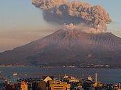 volcan Sakurajima s'active Japon