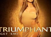 "Mariah Carey sublime pochette nouveau single ""Triumphant"""