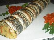 Roulé d'anchois pomme terre