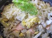 Riz/saumon/fenouil façon koulibiac