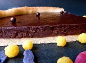 Tarte chocolat, pâte sablée Pierre Hermé