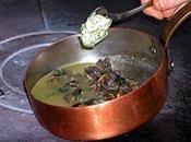 Fricassée d'escargots Bourgogne beurre noix raisins Smyrne