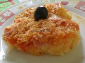 Délicieux gratin chou-fleur sauce tomate jambon (halal)