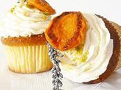 Cupcakes abricots, nougat miel lavande