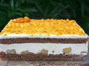 Gâteau poires caramel