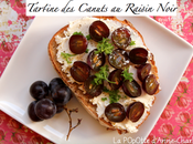 Recette Maréchal Fraicheur Tartine Canuts Raisin Noir