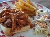 Porc effiloché barbecue (mijoteuse)