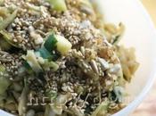 Salade Chou Blanc l'Asiatique