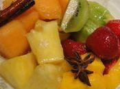 Salade fruits epices