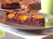 Gâteau quetsches chocolat