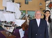 Thaïlande. Udonthani. Exposition maquettes bateaux.