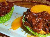 cupcakes pêches philadelphia chocolat