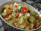 Salade couscous, Cheddar légumes jardin