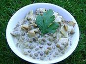 Lentilles Jambon Crème