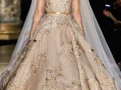 Robe dorée d'Elie Saab pour 2013