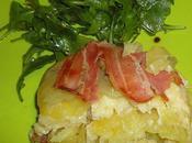 Terrine camembert lardee pommes terre