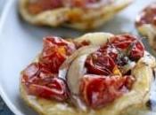 Idée pour apéritif dinatoire mini pizzas tomates cerises