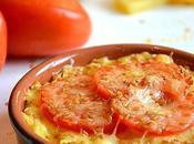 Polenta gratinée tomate graines