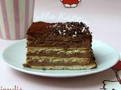 Gâteau petits-beurre, chocolat café