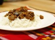 Curry bœuf madras Madras Beef curry