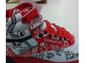Keith Haring Reebok Freestyle