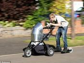 poussette pour bébé motorisée monte Km/h