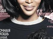 novembre Naomi Campbell s'embourgeoise Russie (couverture Harper's Bazaar Russe) quand Halle Berry subsiste dans InStyle