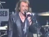 Johnny Hallyday concert Londres devant salle comble