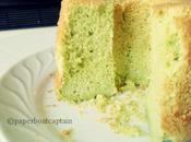 Chiffon cake pandan