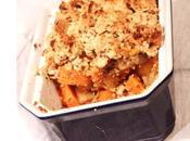 recette Légumes anciens Crumble panais patates douces