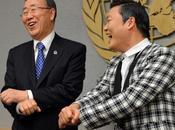 VIDÉO (ONU) Gangnam Style rencontre Ki-moon
