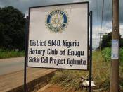 Rotary ENUGU Nigéria Drépanocythose Même combat PAP-JARRY
