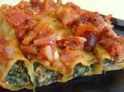 Cannellonis bruccio epinard