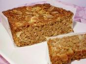 Cake pomme pâtisson râpés façon pain d'épices