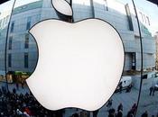 difficultés d'approvisionnement font chuter l'action Apple