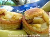 Vol-au-vent Royale Miquelon carolans pommes carmalisées