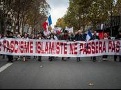 "Manifestation contre Fascisme Islamique"" Paris."